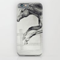 horse iPhone & iPod Cases featuring Horse by Anna Shell