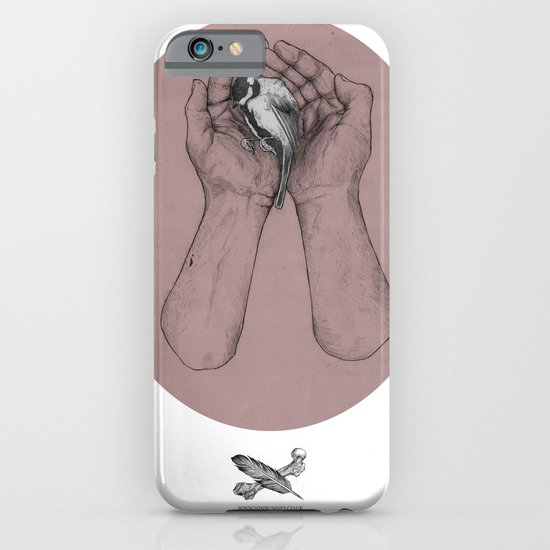 Hes got the whole bird in his hands iPhone & iPod Case