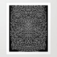 Knots Leggings 1 Art Print