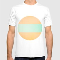 Life Begins Mens Fitted Tee White SMALL