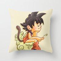 Pooku Throw Pillow