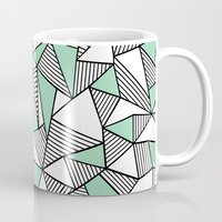 Abstraction Lines With M… Mug