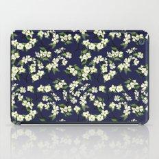 April blooms(Dogwoods_blue) iPad Case