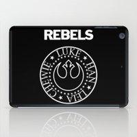 I Wanna Be a Rebel iPad Case