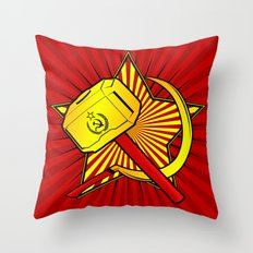 Asgardian Revolution: THOR Throw Pillow