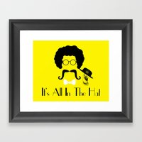 It's All In The Hat Framed Art Print
