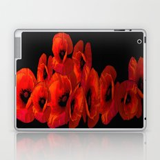 ELEVEN RED POPPIES Laptop & iPad Skin