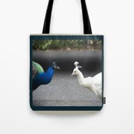 Mirror Image In Blue And… Tote Bag