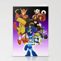 Megaman 2 Stationery Cards