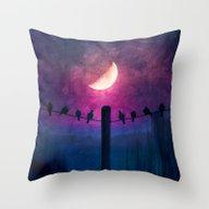Symphony (colour Option) Throw Pillow