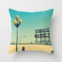 wider public... Throw Pillow
