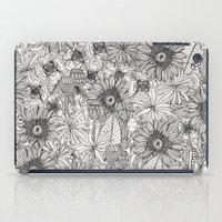Pencil Flowers iPad Case