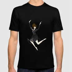 Reflection Mens Fitted Tee SMALL Black