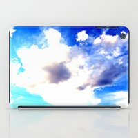 Blue Skies Will Never Fade iPad Case