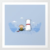 Good Griffin! Art Print