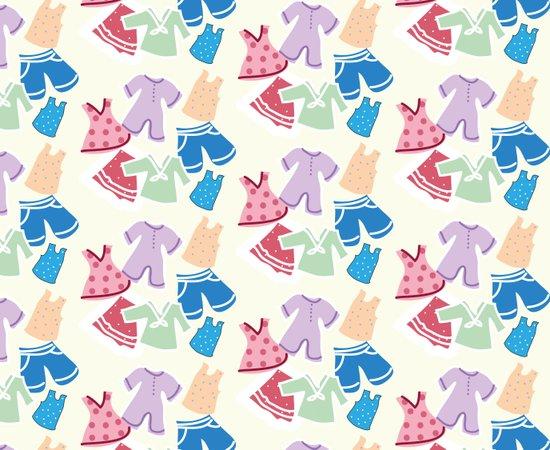 Summer clothes Art Print