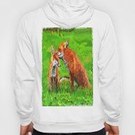 Red Fox Love  Hoody