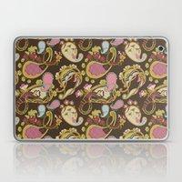 Paisley Brown Laptop & iPad Skin