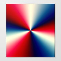 Red, White & Blue Canvas Print