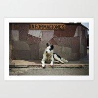 Informaciones Art Print