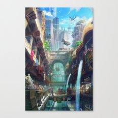 Royal City Escadia  Canvas Print