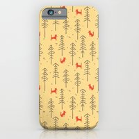 Fox Hiding In The Forest iPhone 6 Slim Case