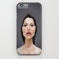 iPhone & iPod Case featuring Celebrity Sunday ~ Monica Bellucci by Rob Snow
