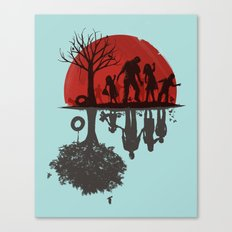 A Family Once Canvas Print