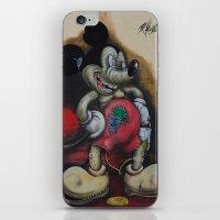 Tempus Fugit - Mr.Klevra- iPhone & iPod Skin