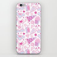 Girl Power iPhone & iPod Skin