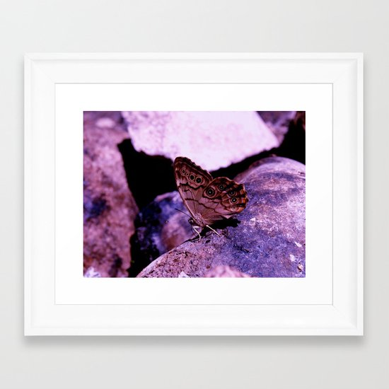 Simplistic Beauty Framed Art Print