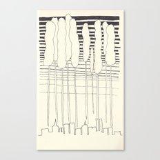 wild city Canvas Print
