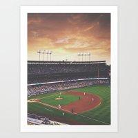 Dodger Stadium Art Print