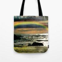 Pacific Rainbow Tote Bag