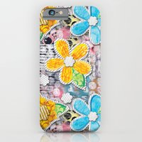 Paper Flower Power iPhone 6 Slim Case