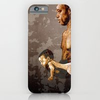 iPhone & iPod Case featuring FATHER and SON - urban ART by ARTito