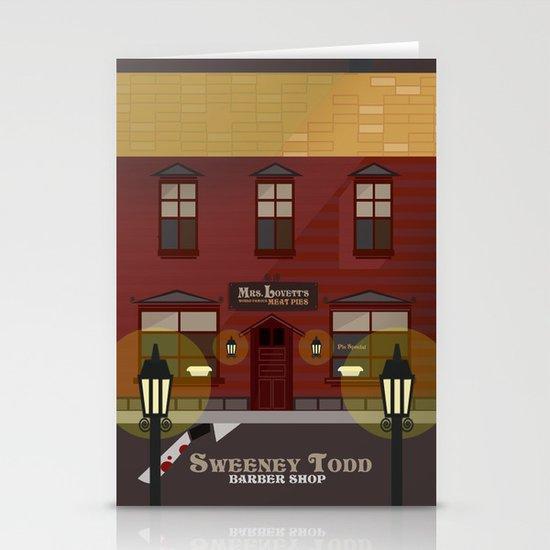 sweeney todd  Stationery Card