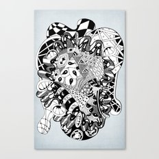 The heart of things Canvas Print