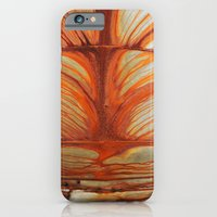 iPhone & iPod Case featuring Rusty Abstract Watermarks by Shy Photog