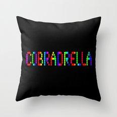 COBRADRELLA Throw Pillow
