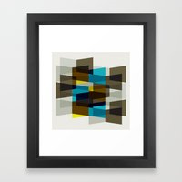 Aronde Pattern #03 Framed Art Print