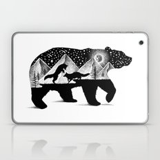 THE BEAR AND THE FOXES Laptop & iPad Skin