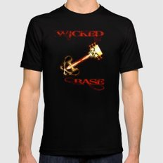 WICKED BASE - 128 Mens Fitted Tee Black SMALL