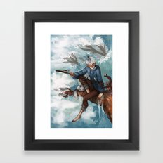Companion Framed Art Print