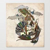 Rap-Unzel Canvas Print