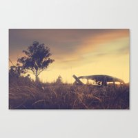 Sunsets And Forgotten Ca… Canvas Print