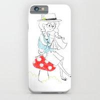 Girl drawing. iPhone 6 Slim Case