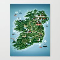 Ireland Canvas Print