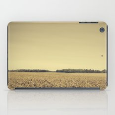 Lonely Field in Brown iPad Case