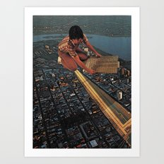 The Circuits Art Print